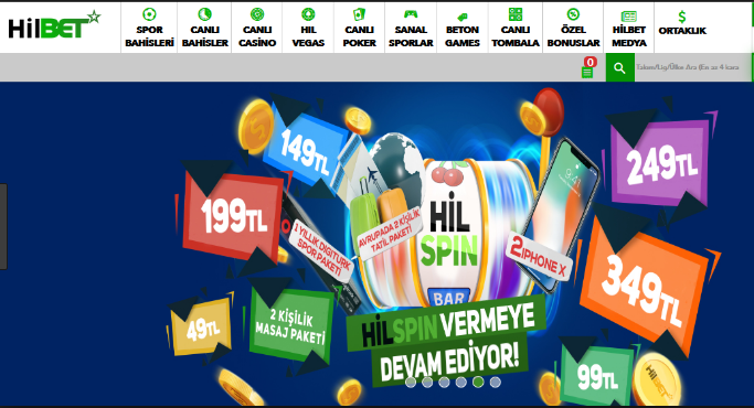 hilbet casino bonusları